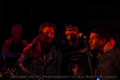 David Adam Byrnes, Tommy Steele, Jason Casterlin at the Thunderbash 2013