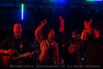 Iron Cowboys, David Adam Byrnes, Tommy Steele, Jason Casterlin at the Thunderbash 2013