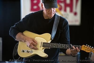 Jim Santoro of the Somerville Band at the 2013 ThunderBash (at rehearsal).