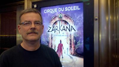 Gary at Cirque Du Soleil