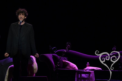 Neil Gaiman Amanda Palmer and Neil Gaiman play Moore Seattle, WA Nov 9, 2011
