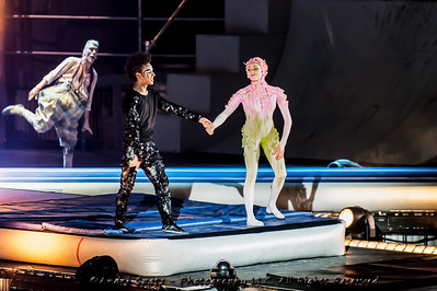 The Pixel Frontier -LES CHEMINS INVISIBLES IN QUEBEC CITY by Cirque du Soleil