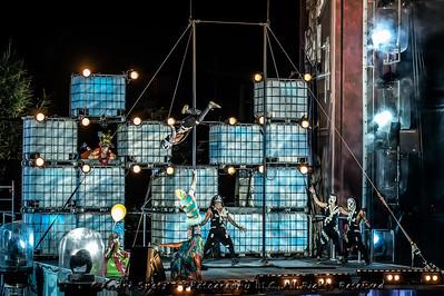 The Pixel Frontier -LES CHEMINS INVISIBLES IN QUEBEC CITY by Cirque du Soleil