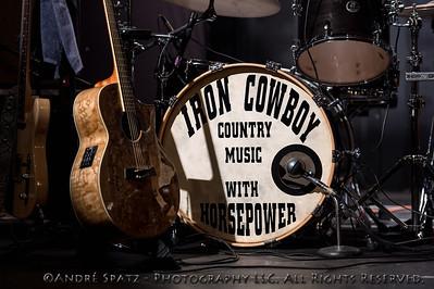 Iron Cowboy at the Thunder at the Theater, Rivoli Theatre, South Fallsburg