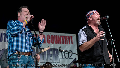 Ken Somerville with John Davis - Iron Cowboy Band