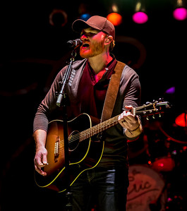 Eric Paslay at the 2015 ThunderBash Concert