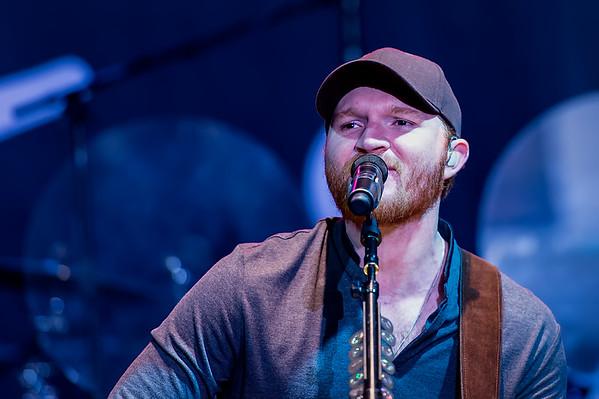 Eric Paslay at the 2015 ThunderBash Concert