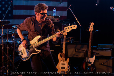 Dennis Mitchell - Tommy Steele Band at the 2013 ThunderBash