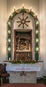 Silent Night Chapel altar