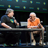 Steve Wozniak and Stan Lee