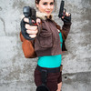 Tomb Raider cosplayer