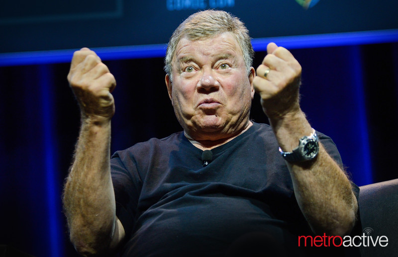 "William Shatner //  Star Treks ""Captain Kirk"""