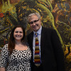 SVC's Annie Levitt with Founder/Executive Director Rick Friedman. Photos by Stephanie Guerrero