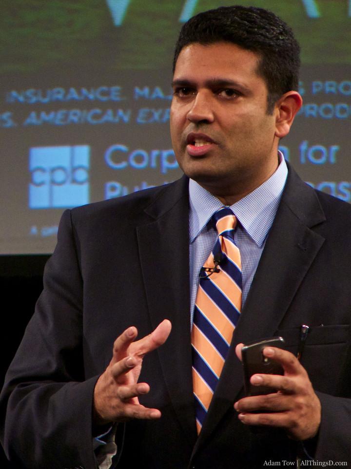Hari Sreenivasan, Correspondent with PBS Newshour, was the MC for the event.