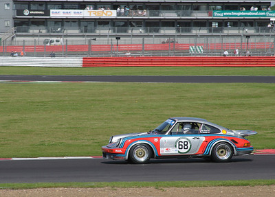 1974 Porsche 911 RSR driven by Jeremy Cooke at Luffield at World Sports Car Masters Silverstone Classic July 22 2012