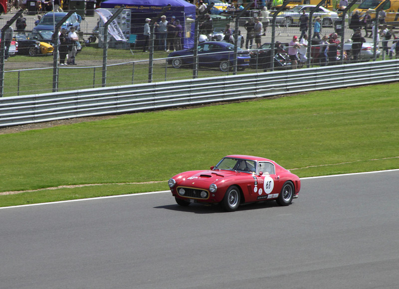 1960 Ferrari 250 SWB at RAC Tourist Trophy for Historic Cars (pre-63 GT) Silverstone Classic July 22 2012