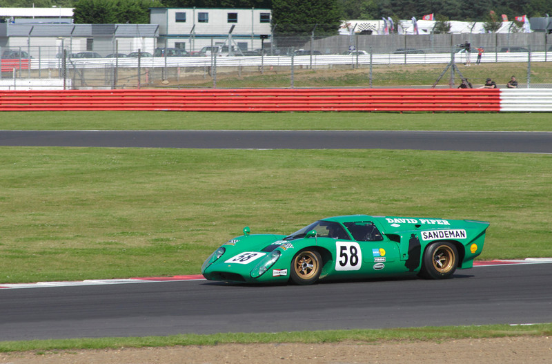1969 Lola T70 Mk3b at Luffield at World Sports Car Masters Silverstone Classic July 22 2012
