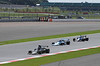 Race at Daily Express International Trophy for Grand Prix Masters Silverstone Classic July 22 2012 Lotus 76/1 at front