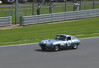 Jaguar E-Type driven by John Burton at RAC Tourist Trophy for Historic Cars (pre-63 GT) Silverstone Classic July 22 2012