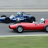 Silverstone Classic 2014- 1962 Cooper T59 in front of a 1960 Bond FJ part 2
