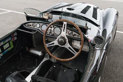 1951 Frazer Nash Mille Miglia Cockit - Silverstone Classic 2018