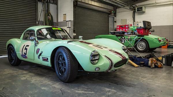 Silverstone Classic 2014 1962 Ginetta G4 998 cc Chas Mullard Nigel Winchester 2
