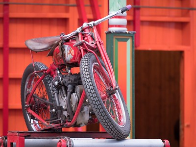Indian Motor Cycle - Rock on Tommy - Wall of Death - Silverstone Classic 2016