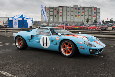 GT 40 model revisited - Silverstone Classic 2019