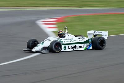 1981 Williams FW07C Max Smith-Hilliard Silverstone Classic 2015
