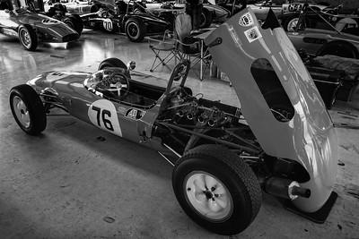 1962 Lotus 22 John Rees Silverstone Classic 2014