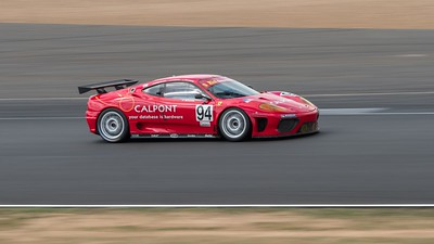 2003 Ferrari 360 GT - Janos Santa - Silverstone Classic 2018