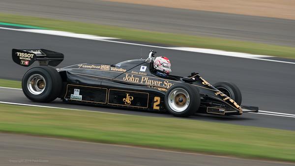 1982 Lotus 91-7 3000cc - Katsuaki Kubota -  Silverstone Classic 2019_