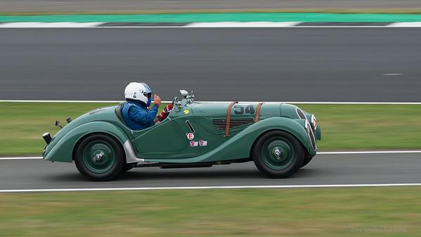 1938 BMW 328 - Andrew Mitchell - Silverstone Classic 2019