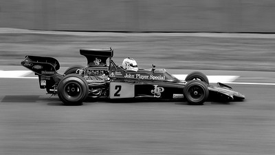 Silverstone Classic 2014 - Lotus 72 John Player Special BW