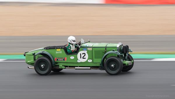1931 Talbot 105 Sorts - Team Car - Chris Lunn - Silverstone Classic 2019