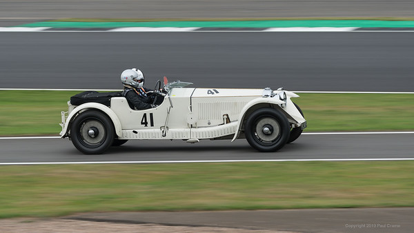 1931 Invicta Low Chassis - Rory & Alan Brown - Silverstone Classic 2019