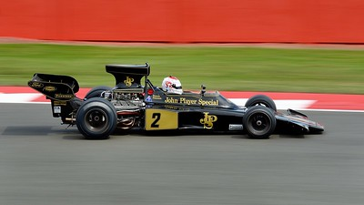 Silverstone Classic 2014 - Lotus 72 John Player Special