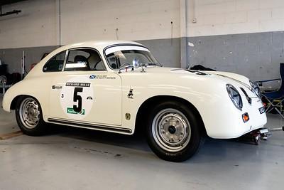 1957 Porsche 356 1600cc - Tom Pead - Silverstone Classic 2016