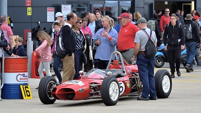 Red Tape - 1962 Assegai  at the Silverstone Classic 2017