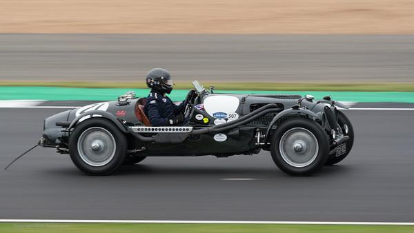 1936 Aston Martin Speed Red Dragon - Alan Middleton - Silverstone Classic 2019