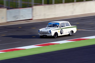 Silverstone Classic 2014 - 1964 Ford Lotus Cortina Mk1