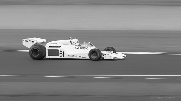 1978 Shadow DN8 - Jason Wright -   Silverstone Classic 2019