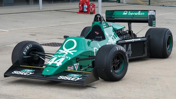 1983 Tyrrell 012  3000cc -  Silverstone Classic 2019_