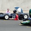 Silverstone Classic 2014 - Waiting for the Restart