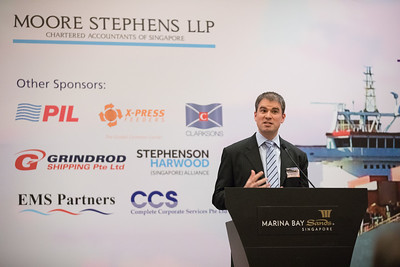 Moore Stephens Reception during Singapore Maritime Week 2017 at Marina Bay Sands