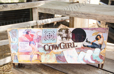 Cowgirl sign 1012 6251