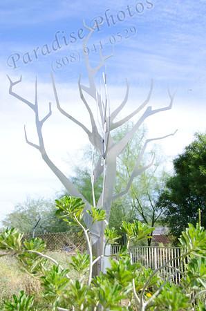 Metal tree  sky 1012 6281
