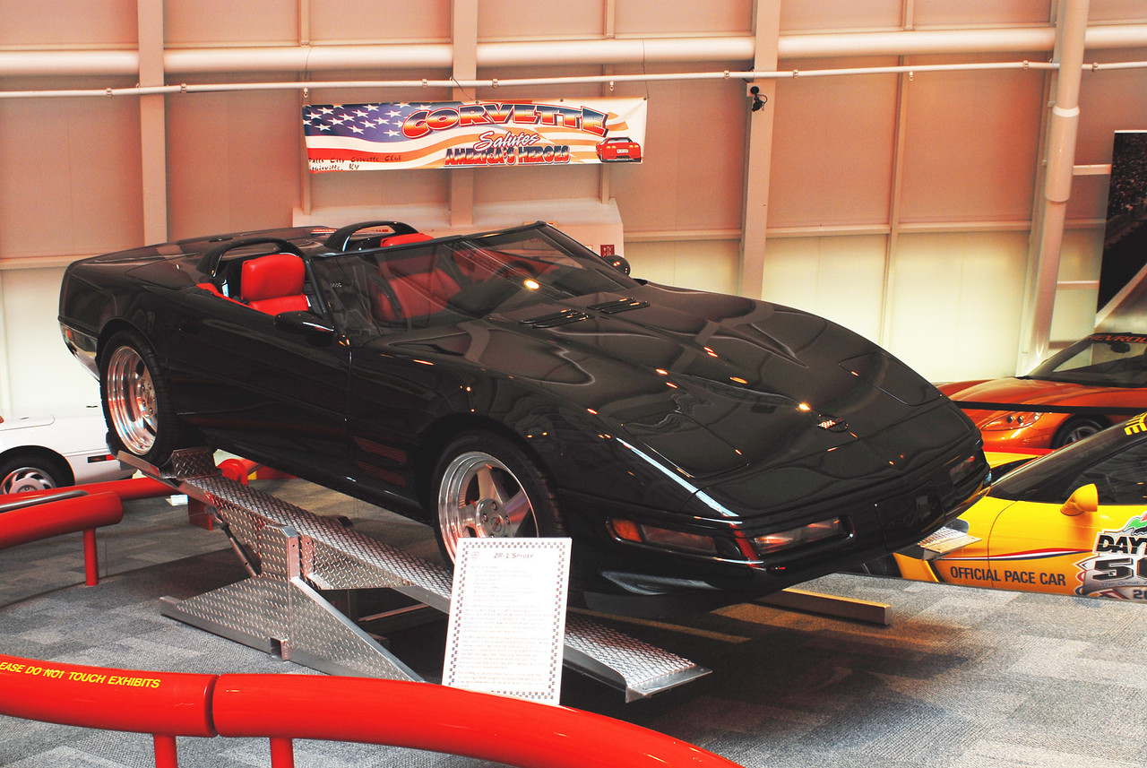 1993 ZR-1 Spyder  Permission given to use this image with credit to the National Corvette Museum