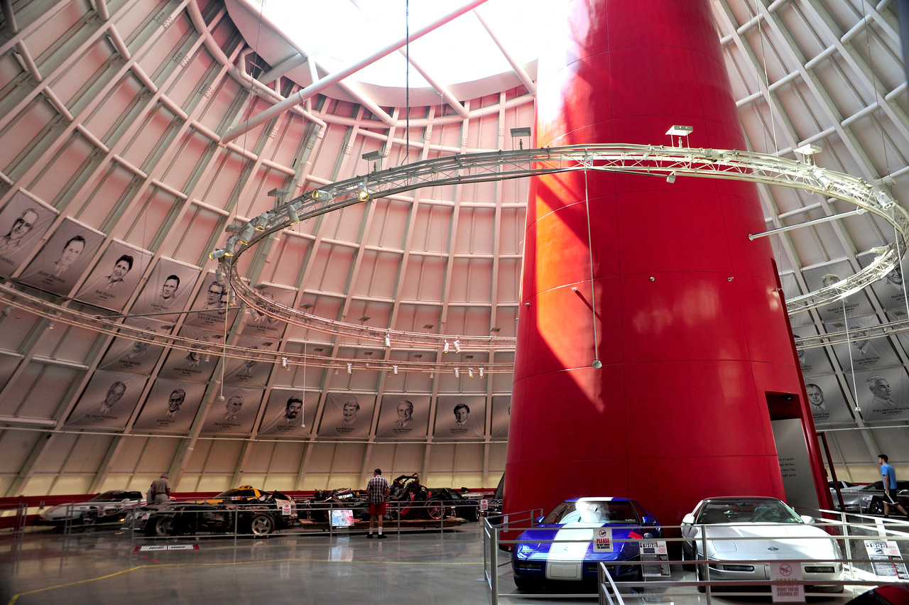 The National Corvette Museum Skydome post sinkhole construction.