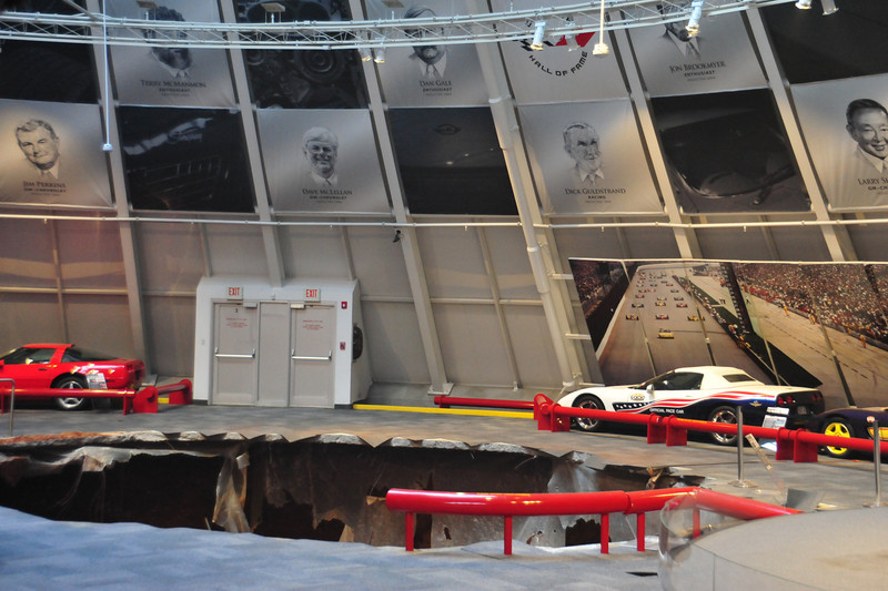 National Corvette Museum Skydome Sinkhole   Permission given to use this image with credit to the National Corvette Museum
